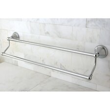 "<strong>Kingston Brass</strong> Governor 20.63"" Dual Towel Bar"