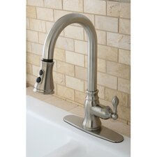 American Classic Gourmetier Single Handle Kitchen Faucet with Pull Down Spout