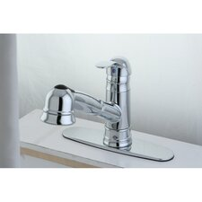 <strong>Kingston Brass</strong> Eden Gourmetier Pull-Out Kitchen Faucet