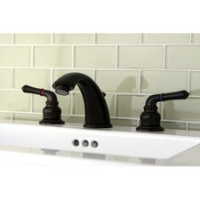 Magellan Double Handle Widespread Bathroom Faucet with ABS Pop-Up Drain