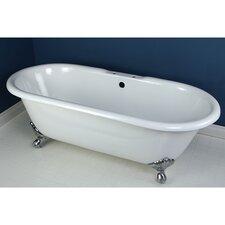 """Aqua Eden 66"""" x 30.13"""" Freestanding Bathtub"""
