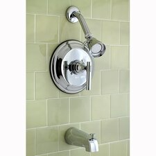 Milano Single Handle Tub and Shower Faucet