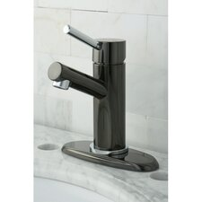 Water Onyx Single Handle Bathroom Faucet with Brass Pop-Up