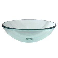 Templeton Glass Vessel Bathroom Sink