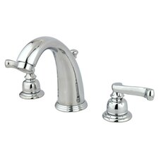 <strong>Kingston Brass</strong> Royale Double Handle Widespread Bathroom Faucet with Brass Pop-Up Drain