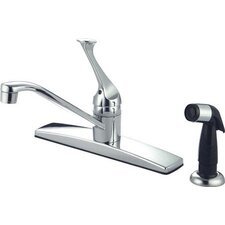 <strong>Kingston Brass</strong> Columbia Single Handle Kitchen Faucet