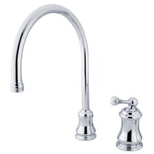 Restoration Single Handle Widespread Kitchen Faucet