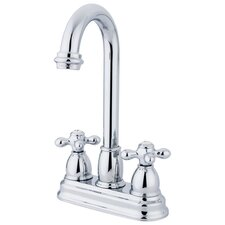 Restoration Double Handle Centerset Bar Faucet