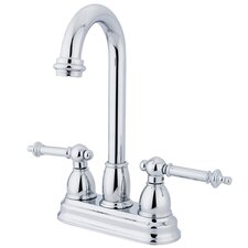<strong>Kingston Brass</strong> Tremont Double Handle Centerset Bar Faucet
