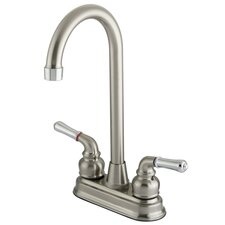 Magellan Double Handle Centerset High-Arch Bar Faucet