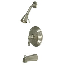 <strong>Kingston Brass</strong> Restoration Single Handle Tub and Shower Faucet