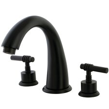 Milano Double Handle Roman Tub Filler