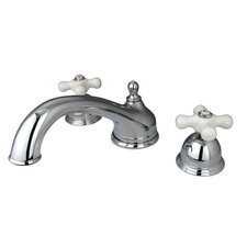 <strong>Kingston Brass</strong> Vintage Double Handle Roman Tub Filler
