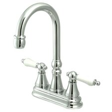 Governor Double Handle Centerset Bar Faucet