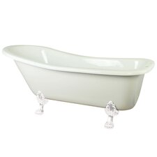 "Aqua Eden 69"" x 28.75"" Freestanding Bathtub"