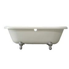 "<strong>Kingston Brass</strong> Aqua Eden 67"" x 29"" Freestanding Bathtub"
