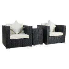 3-tlg. Sessel-Set