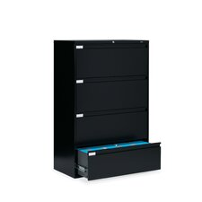 "<strong>Global Total Office</strong> 9300 Series 42"" W Four-Drawer Lateral File"