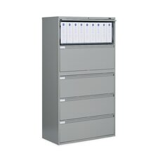"<strong>Global Total Office</strong> 9300 Series 42"" W Five-Drawer Lateral File"