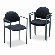 Comet Stacking Guest Arm Chair (Set of 3)