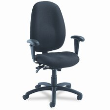 <strong>Global Total Office</strong> Malaga Series High-Back Multi-Tilter Chair