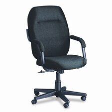 <strong>Global Total Office</strong> High-Back Swivel / Tilt Office Chair with Arms
