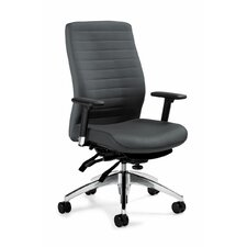 <strong>Global Total Office</strong> High-Back Multi Office Chair with T-Arms