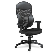 <strong>Global Total Office</strong> Tye Mesh Management Series High-Back Swivel / Tilt Chair