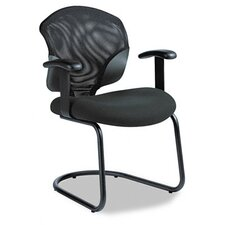 Tye Mesh Management Series Arm Chair with Cantilever Base