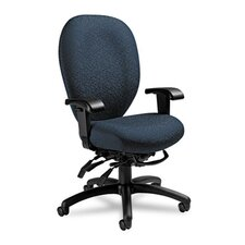 <strong>Global Total Office</strong> Mallorca Series High-Back Multi-Tilt Chair