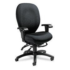 <strong>Global Total Office</strong> Mallorca High-Back Multi-Tilt Chair