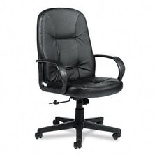 Arno Executive Leather High-Back Swivel / Tilt Chair