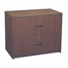 <strong>Global Total Office</strong> Genoa Series Two-Drawer Lateral File