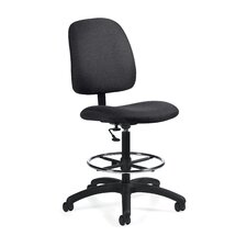 <strong>Global Total Office</strong> Goal Armless Drafting Pneumatic Task Chair