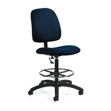 Goal Armless Drafting Pneumatic Task Chair