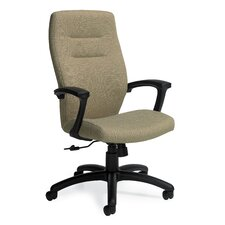 <strong>Global Total Office</strong> Synopsis High-Back Office Chair with Fixed Back