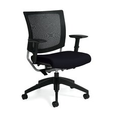 <strong>Global Total Office</strong> Graphic Mid-Back Posture Office Chair with Mesh Back