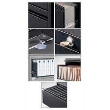 "36"" W Five-Drawer Lateral File"