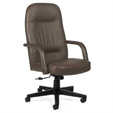 <strong>Global Total Office</strong> Sienna High-Back Pneumatic Office Chair