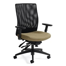 <strong>Global Total Office</strong> Medium Back Mesh Task Chair with Multi-Tilter