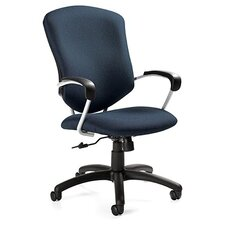 Supra High-Back Pneumatic Tilter Office Chair with Arms