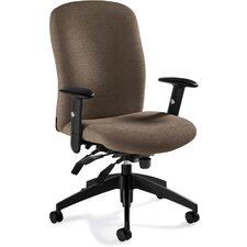 <strong>Global Total Office</strong> Truform High-Back Multi Office Chair with Arms