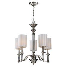 <strong>Ren-Wil</strong> Rosa 5 Light Mini Chandelier