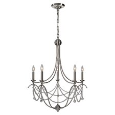 <strong>Ren-Wil</strong> Paris Fixture 6 Light Candle Chandelier