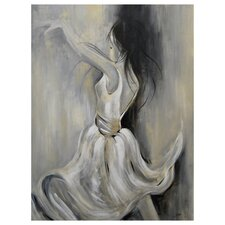 Danza Canvas by Cris Painting Print on Canvas
