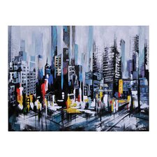 Metro Heights by Ksenia Sizaya Painting Print on Canvas