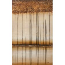 Bronze Landscape by Nathalie Viens Painting Print on Canvas