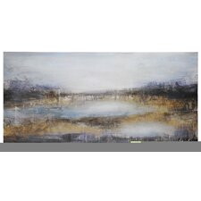 Plum Landscape Canvas Wall Art