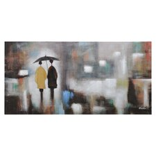 Rainy Day Canvas Wall Art