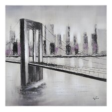 City Links I Canvas Wall Art